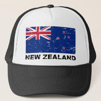 New Zealand Vintage Flag Trucker Hat