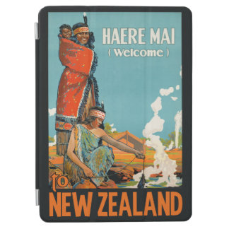 New Zealand vintage travel device covers iPad Air Cover