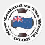 New Zealand vs The World Sticker