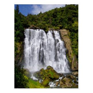 New Zealand Waterfall Postcard