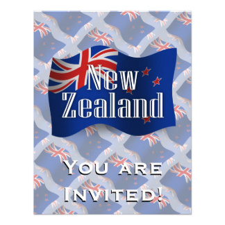New Zealand Waving Flag Announcement