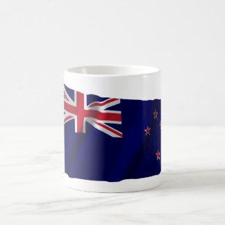 New Zealand Waving Flag Mug