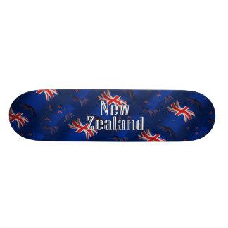New Zealand Waving Flag Skate Deck