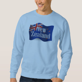 New Zealand Waving Flag Sweatshirt