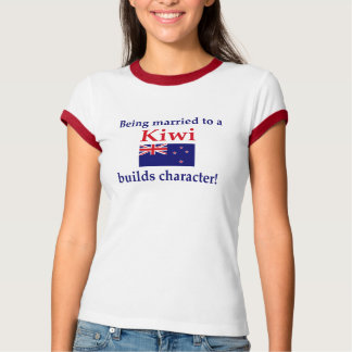 New Zealander Builds Character T Shirt