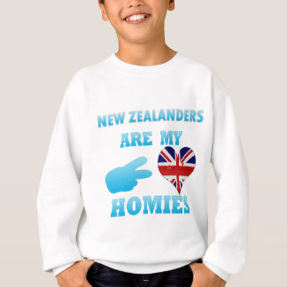 New Zealanders are my Homies Sweatshirt
