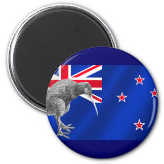 New Zealands Kiwis All Whites soccer gifts 6 Cm Round Magnet