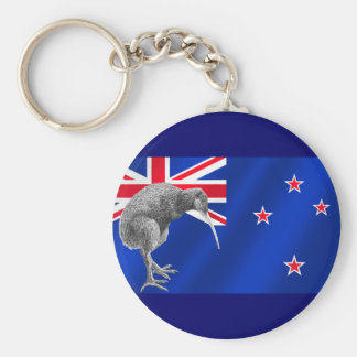 New Zealands Kiwis All Whites soccer gifts Keychain
