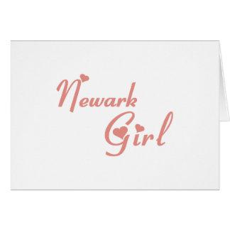 Newark Girl tee shirts Cards