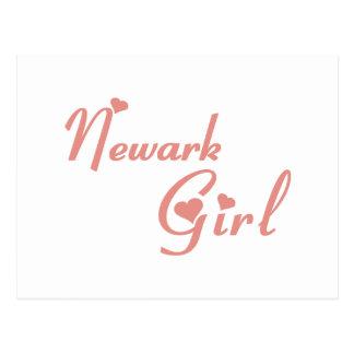 Newark Girl tee shirts Post Cards