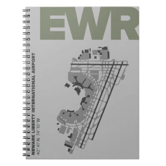 Newark Liberty Airport (EWR) Diagram Notebook