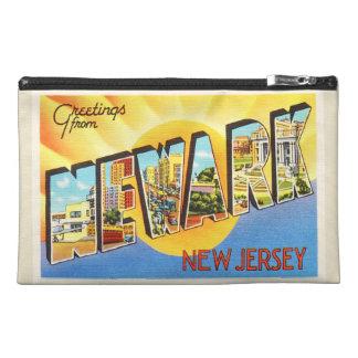 Newark New Jersey NJ Vintage Travel Postcard- Travel Accessory Bag