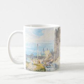 Newark upon Trent Joseph Mallord William Turner Basic White Mug