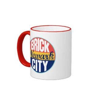 Newark Vintage Label Ringer Mug