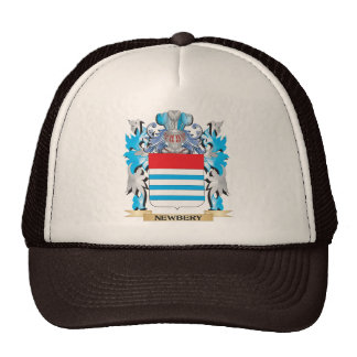 Newbery Coat of Arms - Family Crest Trucker Hat