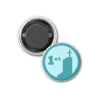 Newbie Chapel Badge Magnet (ONU Squared)