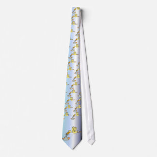 Newborn Baby Arrival - A Flying Stork Delivery Tie