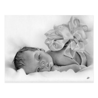 Newborn Baby Gift Postcard