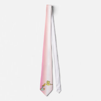 Newborn Baby Girl - A Flying Stork Delivery Tie