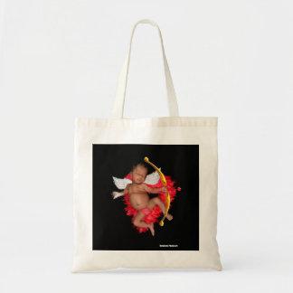 Newborn Cupid Baby Tote Bag