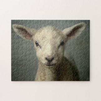 Newborn Lamb Jigsaw Puzzle