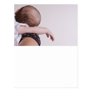 Newborn sleeping post card