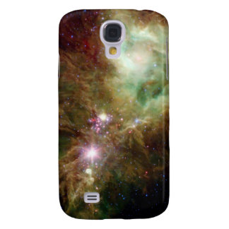 Newborn stars in the Christmas Tree cluster Galaxy S4 Case
