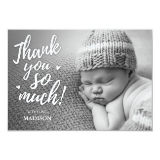 Newborn Thank You Cards 9 Cm X 13 Cm Invitation Card