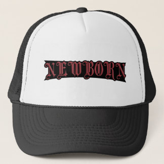 NEWBORN TRUCKER HAT