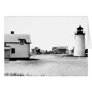 Newburyport Harbor Lighthouse Greeting Card