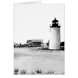 Newburyport Harbour Lighthouse Greeting Card