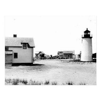 Newburyport Harbour Lighthouse Postcard