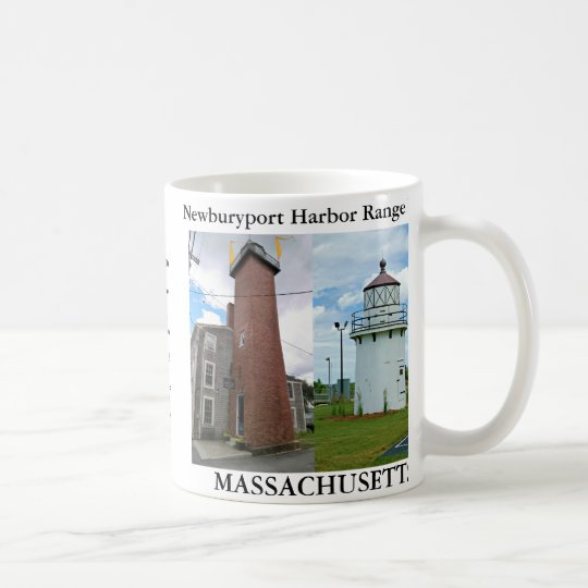 Newburyport Harbour Range Lights, Massachusetts Coffee Mug