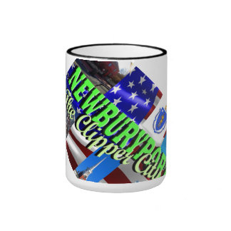 Newburyport, MA Ringer Coffee Mug