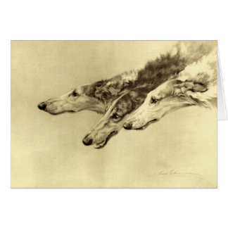 Newcastle Borzoi Card