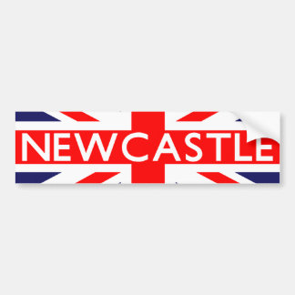 Newcastle : British Flag Bumper Sticker