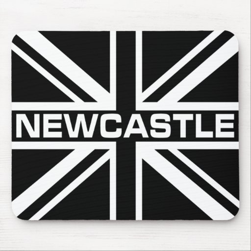 Newcastle Colours British Flag Mouse Pad