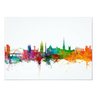 Newcastle England Skyline Card