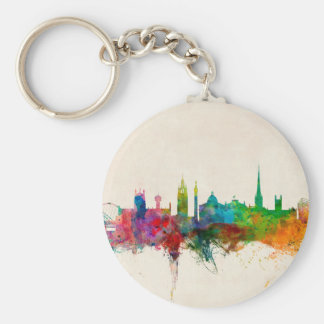 Newcastle England Skyline Key Chains