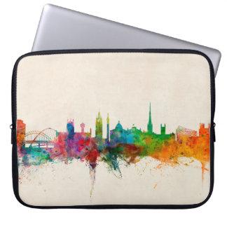 Newcastle England Skyline Laptop Sleeve