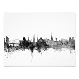 Newcastle England Skyline Photo Print