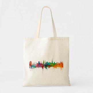 Newcastle England Skyline Tote Bag