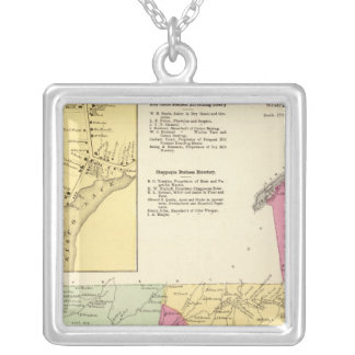Newcastle, Town Silver Plated Necklace