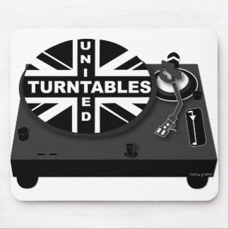 Newcastle Turntable Mouse Pad