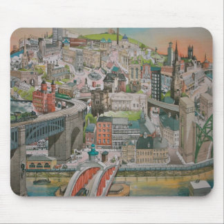 Newcastle upon Tyne through the Years Mousepad