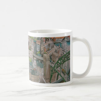 Newcastle upon Tyne through the Years Mug