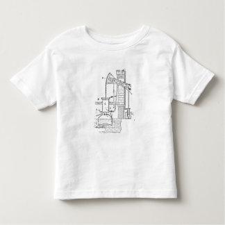 Newcomen's Atmospheric Engine Toddler T-Shirt