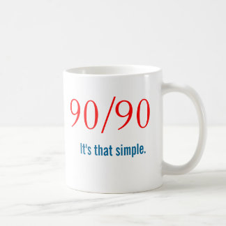 Newcomer 90/90 Slogan - AA NA Mug