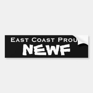 NEWF Bumper Sticker
