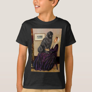 Newfie 1 - Whistler's Mother T-Shirt